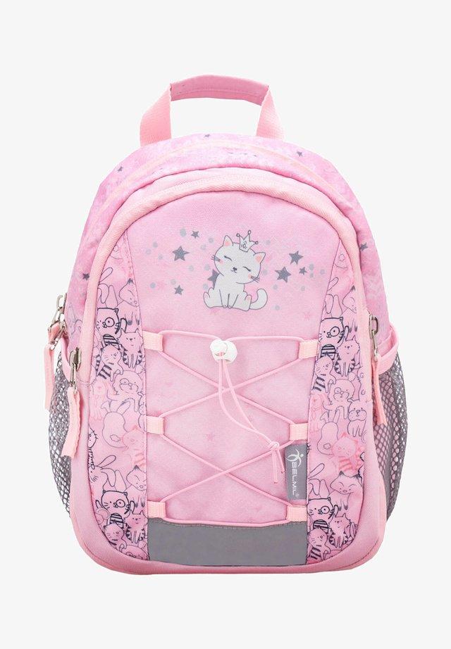 MINI KIDDY - Rucksack - light pink/mottled pink