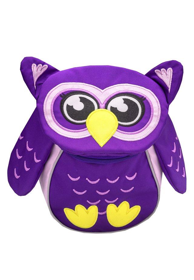 MINI ANIMAL - School bag - purple