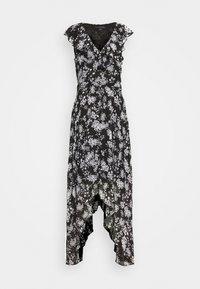 Banana Republic Tall - RUFFLE MAXI - Vestito elegante - black - 0
