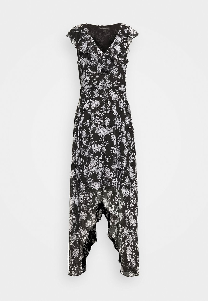 Banana Republic Tall - RUFFLE MAXI - Vestito elegante - black