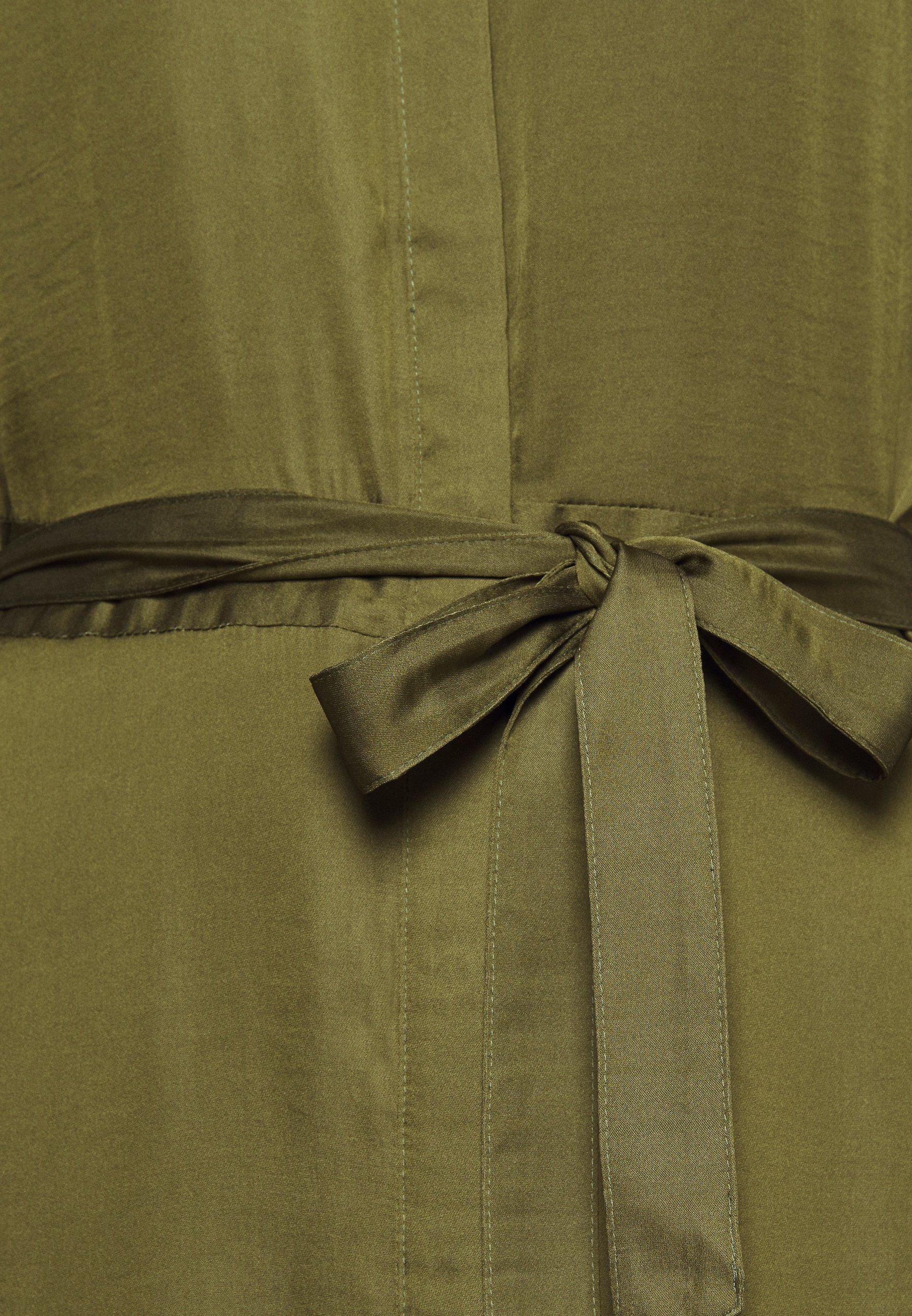 Banana Republic Tall Trench Maxi Dress - Vapaa-ajan Mekko Jungle Olive