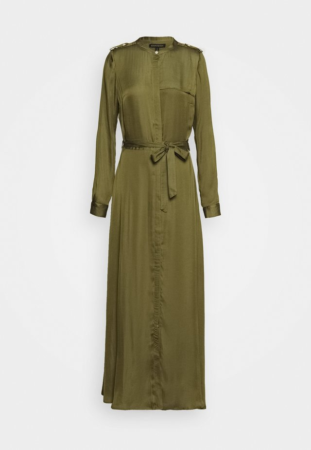 TRENCH MAXI DRESS - Day dress - jungle olive
