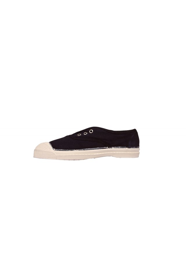 BENSIMON TENNIS WITH EYELETS AND ELASTIC E15149 - Instappers - navy blue