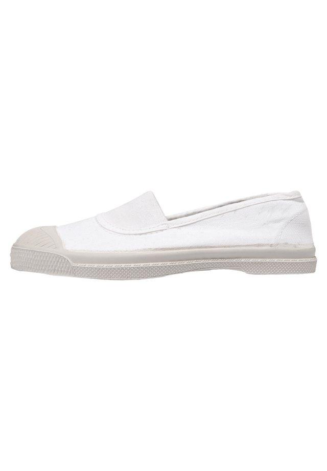 ELASTIC - Slip-ons - white