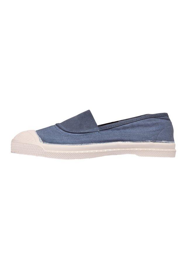 ELASTIC - Slip-ons - blue denim