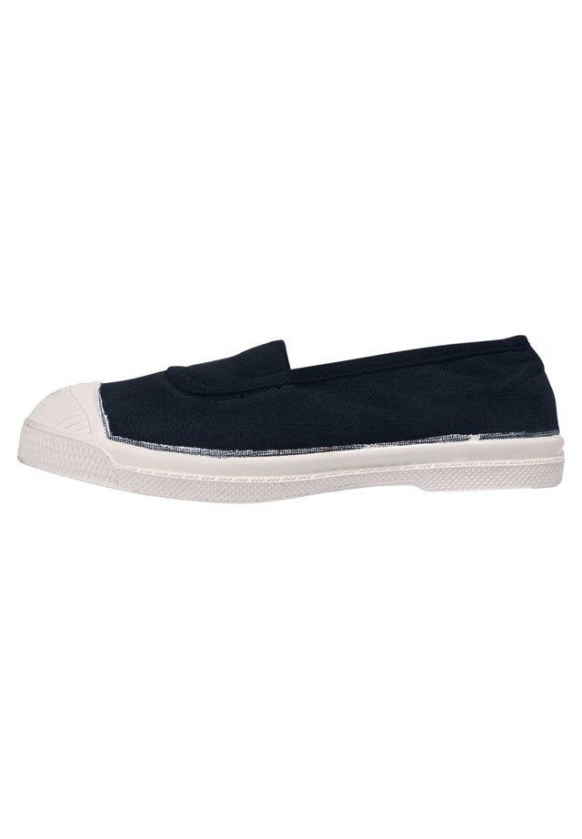 ELASTIC - Slip-ons - navy blue