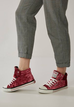 DEE  - High-top trainers - magenta/white