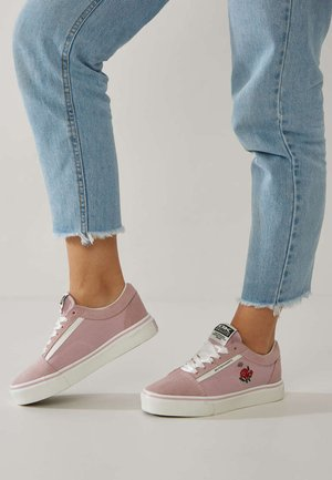 MACK  - Trainers - light pink/white/red floral