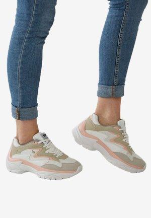 Sneakers laag - white/light gray/beige/light pink