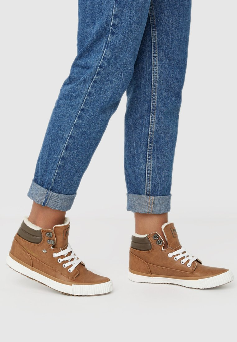 British Knights - BUCK - High-top trainers - cognac/brown