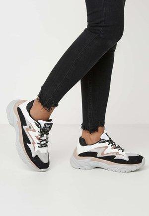 GALAXY - Sneakers laag - grey/black/old pink