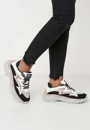 GALAXY - Sneakers - grey/black/old pink