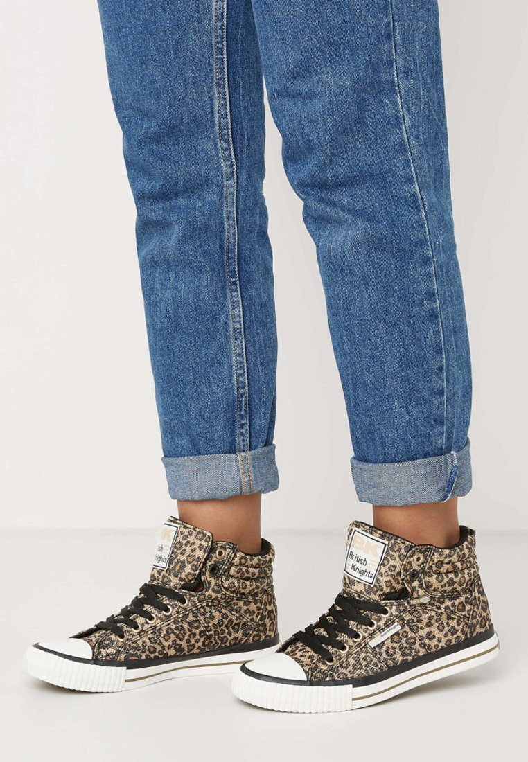 British Knights - DEE - High-top trainers - brown leopard