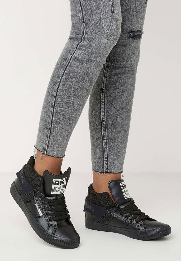 British Knights - ROCO - Skate shoes - black leopard