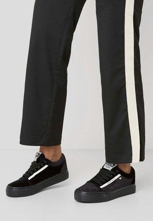 MACK - Sneakers laag - black/white
