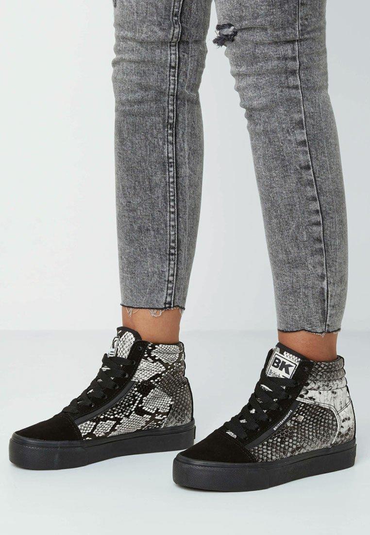 British Knights - MACK MID - Sneaker high - light gray/black