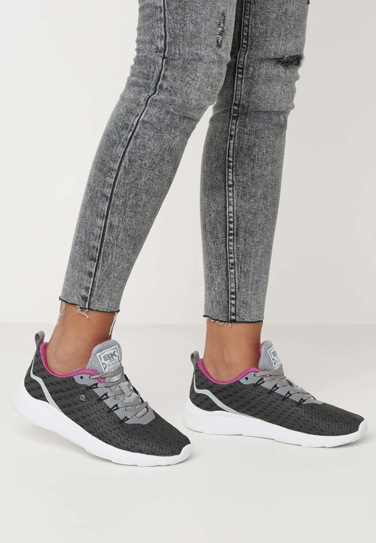 British Knights - TITAN - Trainers - grey/fuchsia