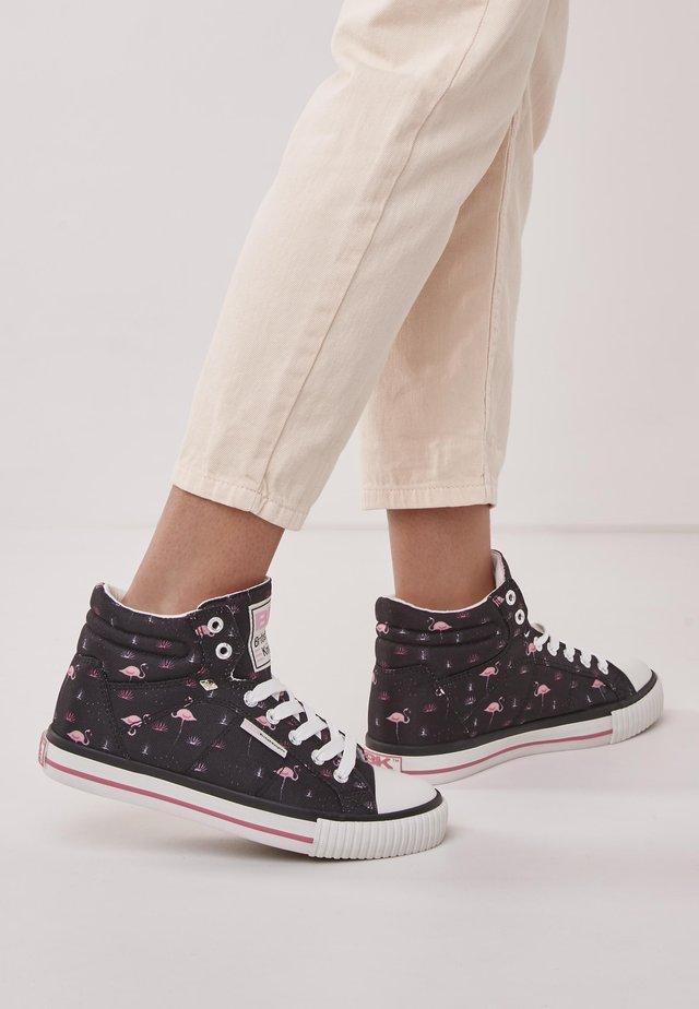 DEE - Höga sneakers - black/pink