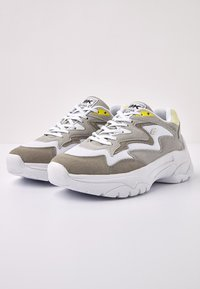 British Knights - GALAXY - Tenisky - beige/yellow - 3