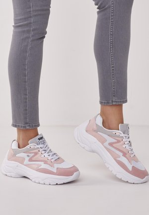GALAXY - Sneakersy niskie - soft pink/white