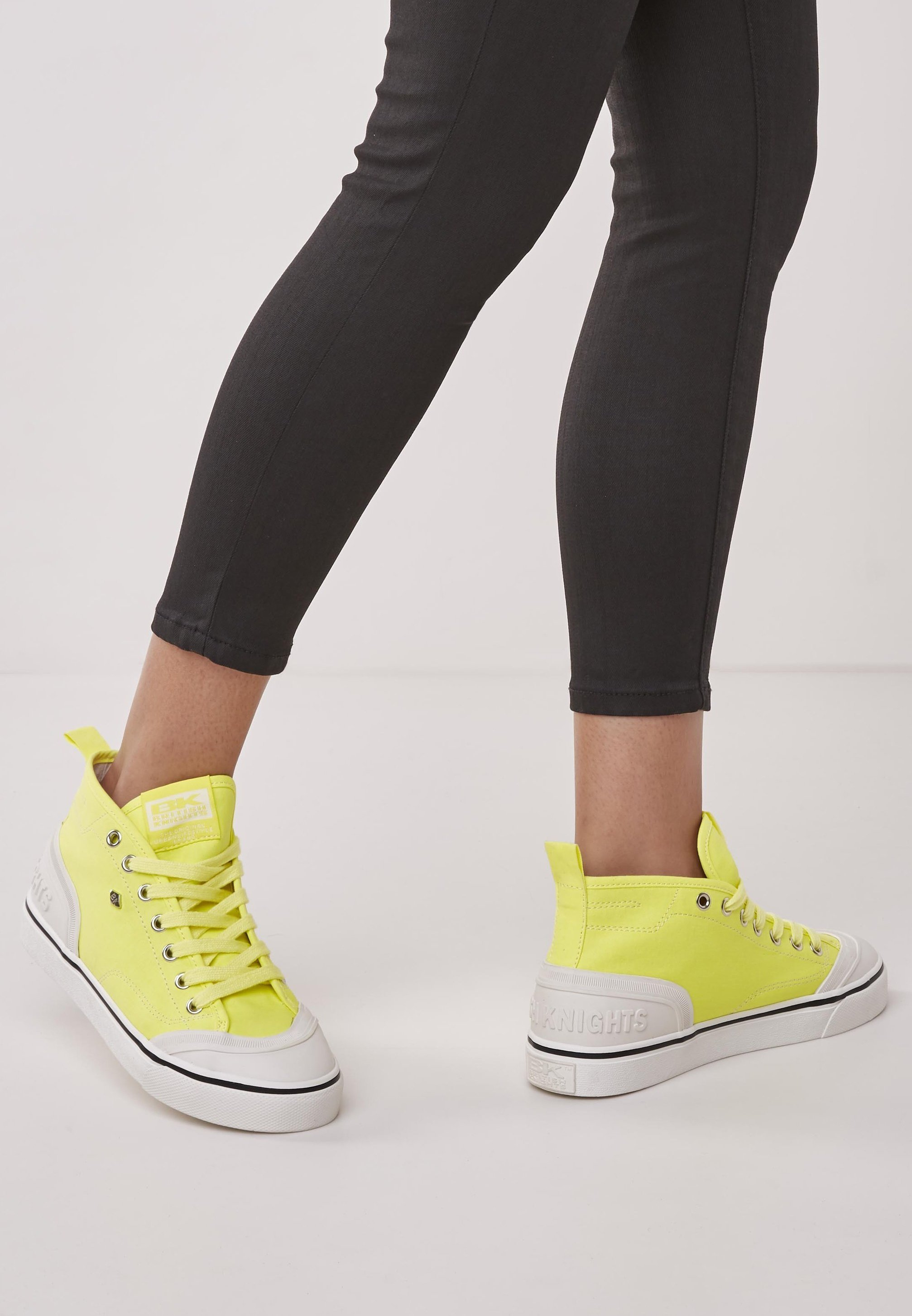 Sneakers laag neon yellow