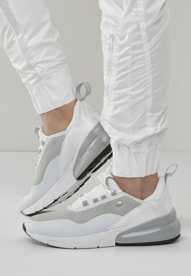 VALEN - Sneakersy niskie - white/lightgrey