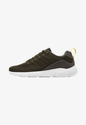 BRAVE - Sneakers - olive/grey/yellow