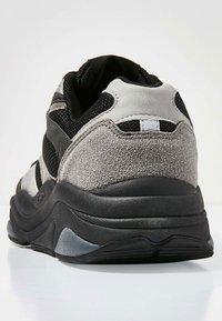 British Knights - ATOM - Baskets basses - black/grey/light grey - 3