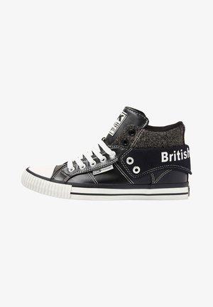 ROCO - Höga sneakers - black/off-white