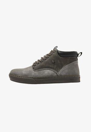 WOOD - High-top trainers - grey/dk grey