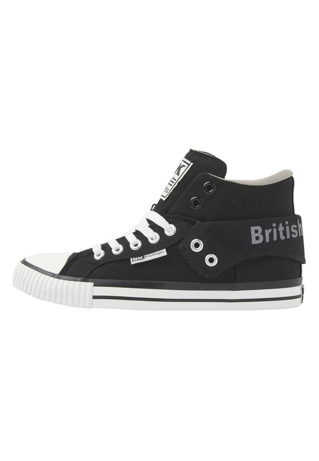 High-top trainers - black/grey