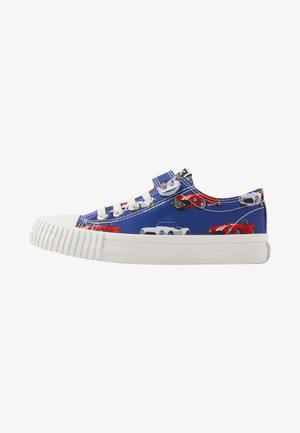 MASTER LO - Baskets basses - blue/red