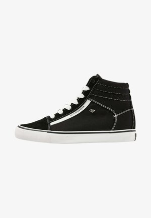 MACK  - Korkeavartiset tennarit - black/white