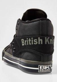 British Knights - ROCO - Korkeavartiset tennarit - black - 3