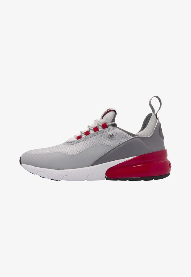 VALEN - Trainers - grey/red