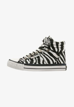 DEE - Sneakers hoog - black/white