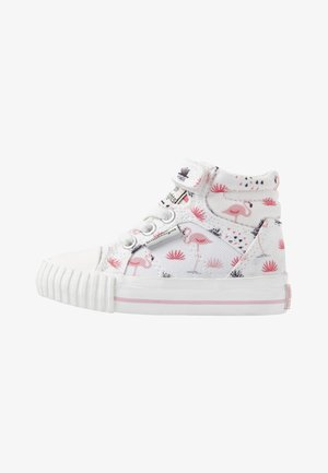 DEE - Chaussures premiers pas - white/pink