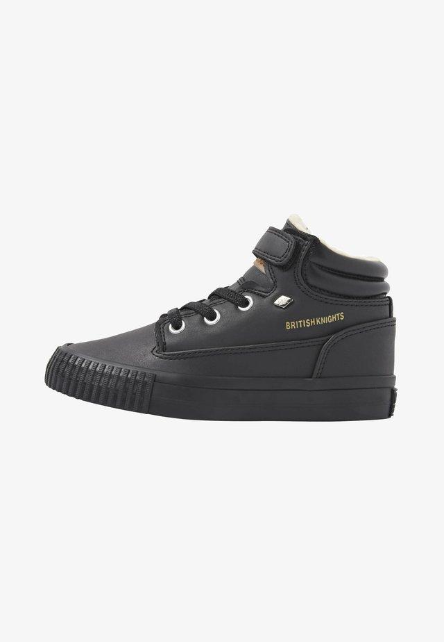 BUCK - High-top trainers - black/black