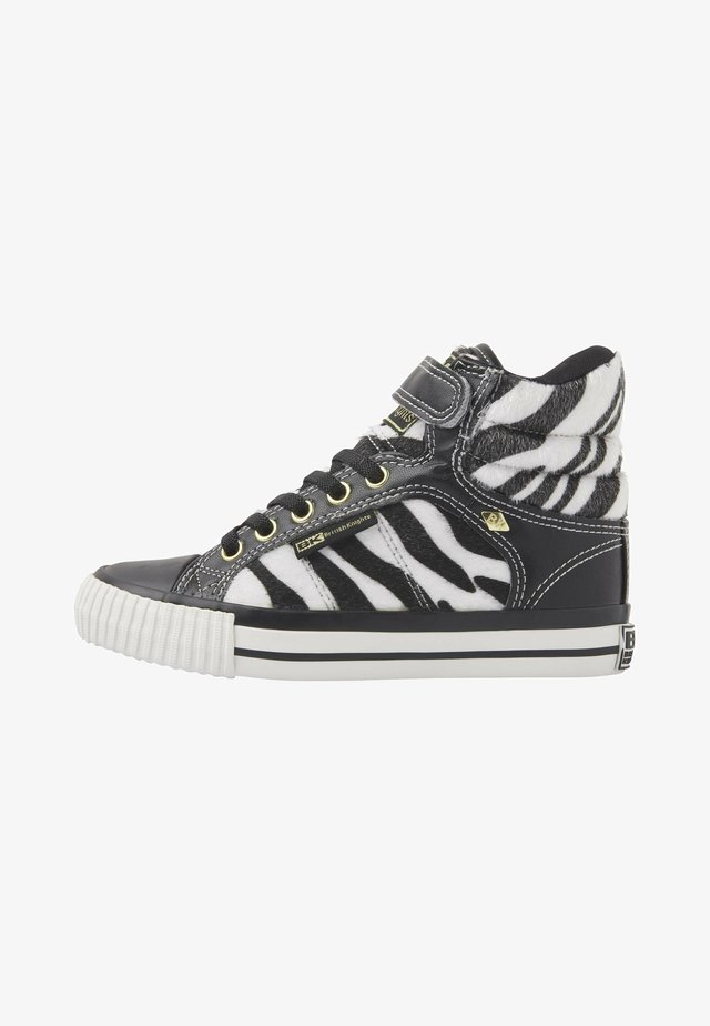 ATOLL - Sneakers laag - zebra/black