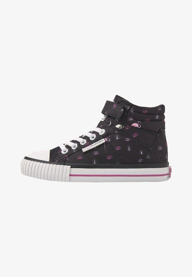 DEE - Sneaker high - black/pink