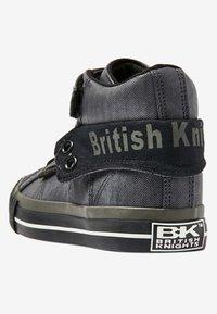 British Knights - ROCO - Korkeavartiset tennarit - dark grey - 3
