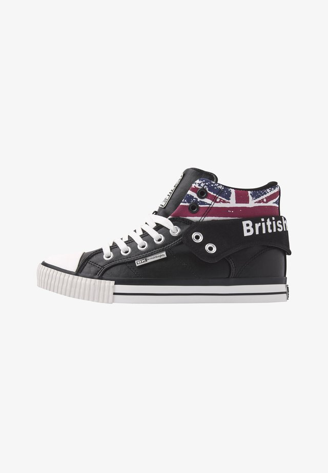 ROCO - High-top trainers - black