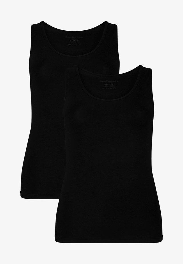2 PACK - Toppe - black