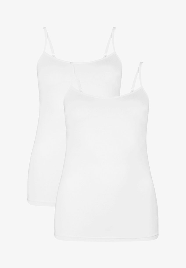 2 PACK - Top - white