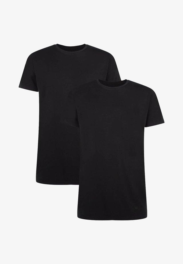 2 PACK - T-shirts basic - black