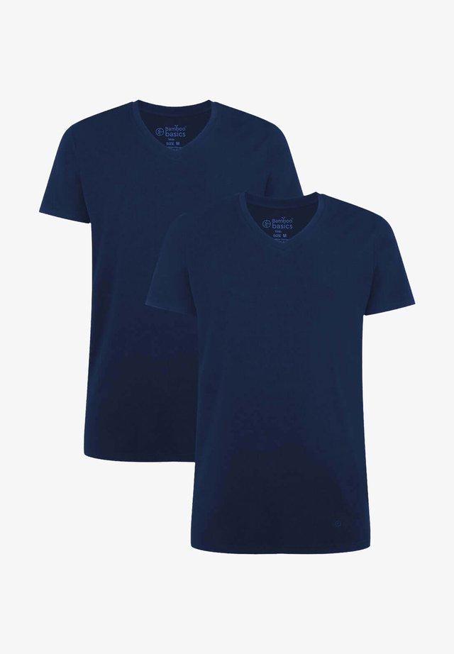 2 PACK - T-shirts basic - navy