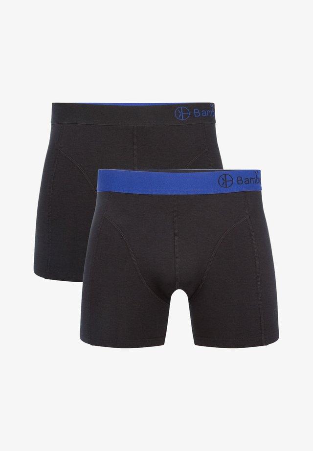2 PACK BASICS  - Onderbroeken - blue black