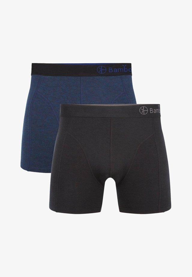 2 PACK BASICS  - Panties - black navy