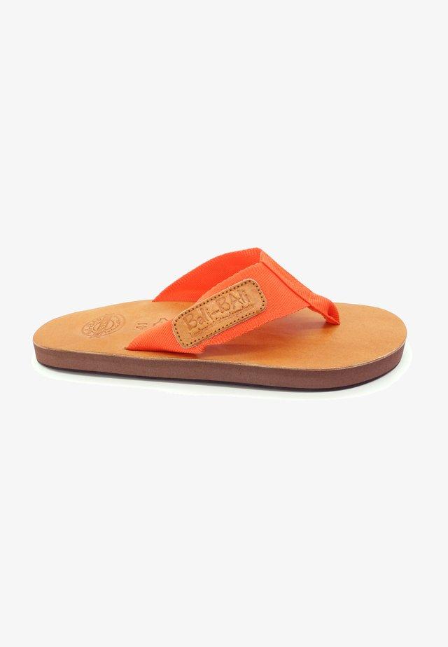 SUMEDANG - T-bar sandals - orange
