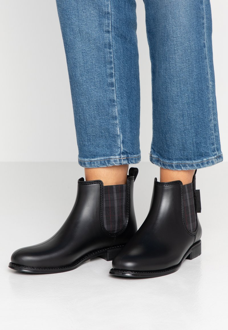 Be Only - OXFORD - Wellies - black